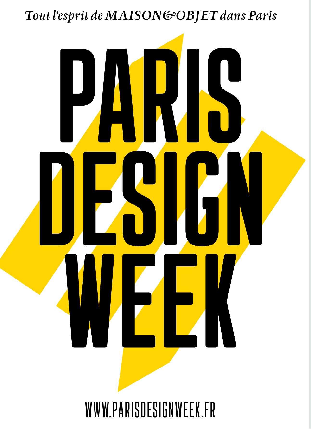 Ferias en París 2020 París Design Week