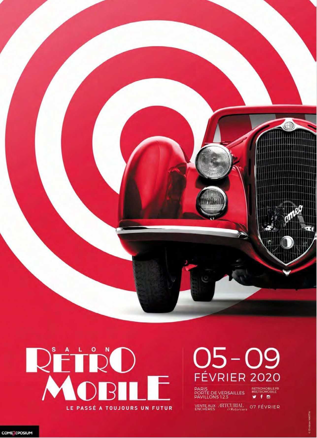 Ferias en París 2020 RetroMobile