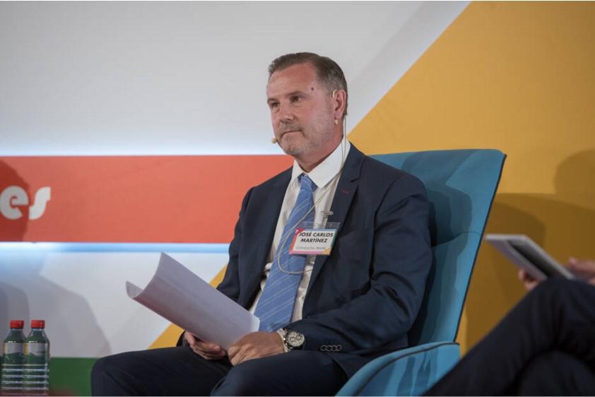 Carlos Martínez, CEO de Consultia Travel durante la mesa redonda